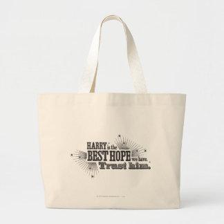 Grand Tote Bag Charme | de Harry Potter notre meilleur espoir