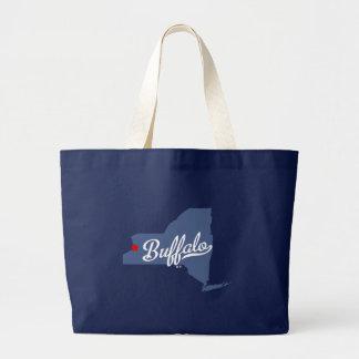 Grand Tote Bag Chemise de New York NY de Buffalo
