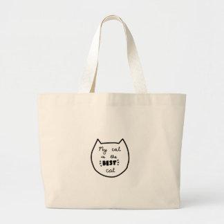 Grand Tote Bag Chemises d'AMOUREUX DES CHATS, accessoires,