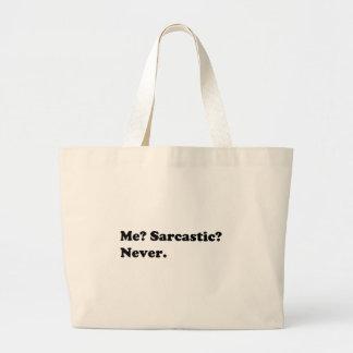Grand Tote Bag Chemises drôles/sarcastiques, cadeaux, accessoires