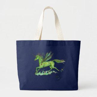 Grand Tote Bag Cheval à ailes par Pegasus à ailes de Pegacorn de