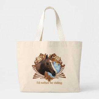 Grand Tote Bag Cheval naturellement