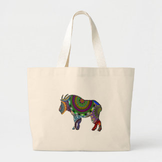 GRAND TOTE BAG CHÈVRE DE BOHO