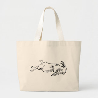 Grand Tote Bag Chèvre de remplissage