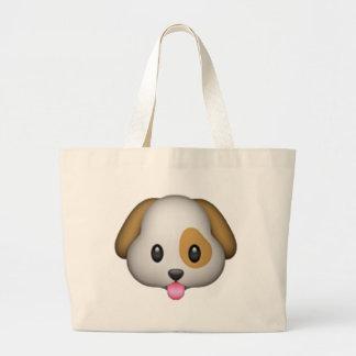 Grand Tote Bag Chien - Emoji