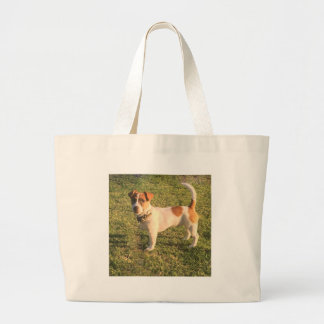 Grand Tote Bag Chiot de Jack Russell