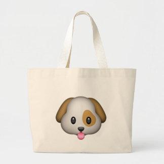 Grand Tote Bag Chiot mignon Imoji