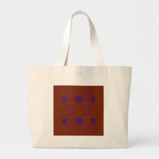 Grand Tote Bag Choco d'éléments de conception