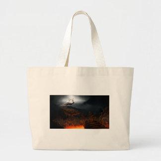 Grand Tote Bag Ciel et enfer