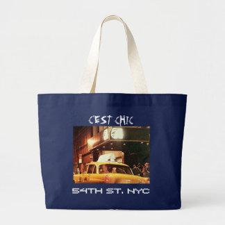 Grand Tote Bag cinquante-quatrième St NYC