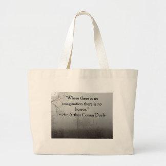 Grand Tote Bag Citation Fourre-tout d'horreur