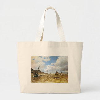 Grand Tote Bag Claude Monet - bouche de l'illustration de la