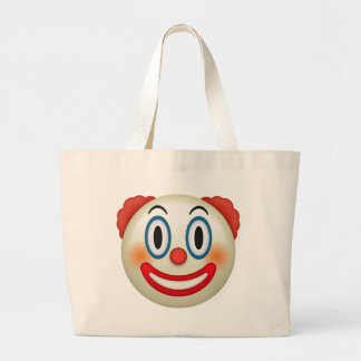 Grand Tote Bag Clown fou Emoji