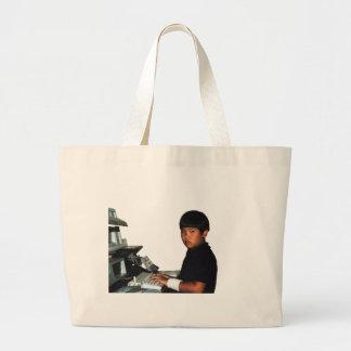 Grand Tote Bag Codeur inconditionnel avec le poignet