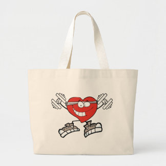 Grand Tote Bag coeur d'exercice