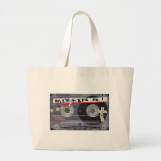Grand Tote Bag Collection mélangée de bande