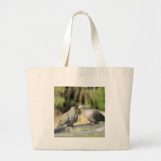 Grand Tote Bag Colombes de deuil