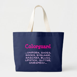 Grand Tote Bag Colorguard,… uniforme, chaussures, chaussettes,