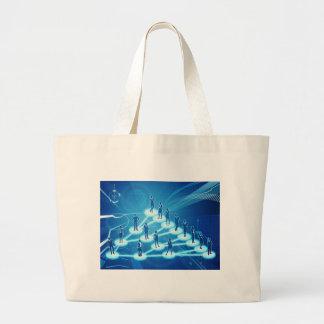 Grand Tote Bag Concept viral de réseau d'affaires de vente
