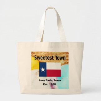 """Grand Tote Bag Conception """"de la ville la plus douce"""" pour le"""