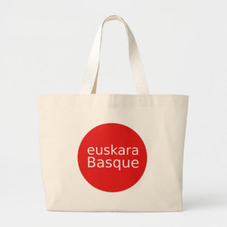 Grand Tote Bag Conception de langue Basque