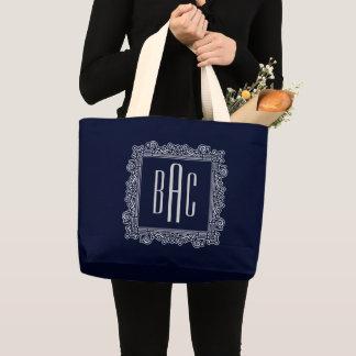 Grand Tote Bag Conception de monogramme