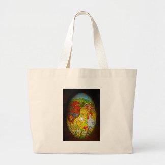 Grand Tote Bag Conception de Pâques