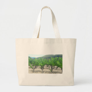 Grand Tote Bag Conception de vin