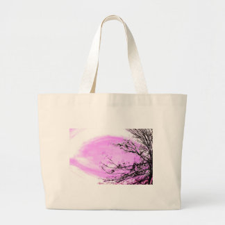Grand Tote Bag Conception rose de forêt de Jane Howarth