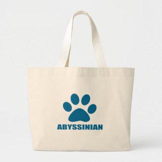 GRAND TOTE BAG CONCEPTIONS ABYSSINIENNES DE CAT