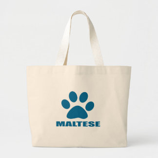 GRAND TOTE BAG CONCEPTIONS DE CHIEN MALTAIS
