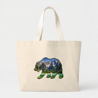 GRAND TOTE BAG CONCLUSION DE BONS ENDROITS
