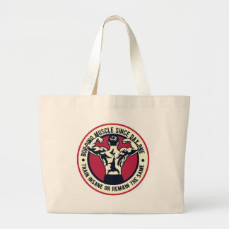 Grand Tote Bag Construisez ce muscle