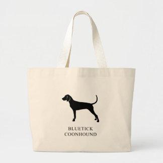 Grand Tote Bag Coonhound de Bluetick