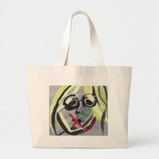 Grand Tote Bag Copie drôle de visage