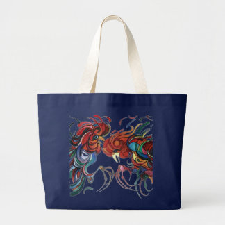 Grand Tote Bag Coqs de basse cour