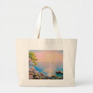Grand Tote Bag Cote d'Azur la mer