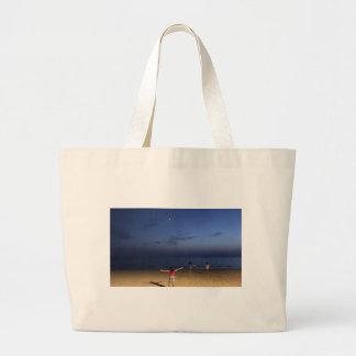 Grand Tote Bag Coucher du soleil de l'Espagne