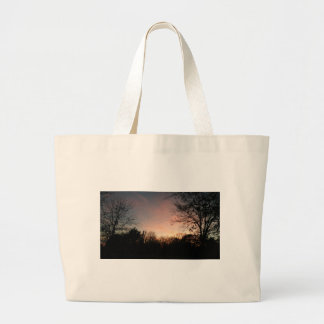 Grand Tote Bag Coucher du soleil de l'Oklahoma