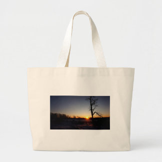 Grand Tote Bag Coucher du soleil du dos 40
