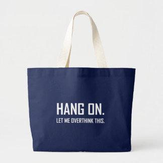 Grand Tote Bag Coup sur Overthink ceci drôle