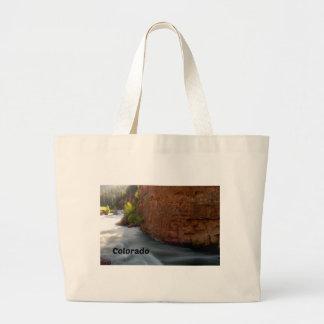 Grand Tote Bag Courant dans les Colorado Rockies