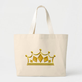 Grand Tote Bag Couronne d'or