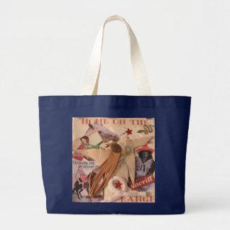 Grand Tote Bag Cow-girl, maison sur la gamme Fourre-tout