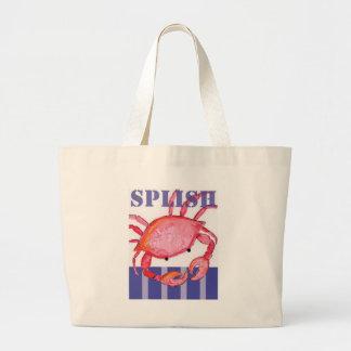 Grand Tote Bag Crabe de Splish