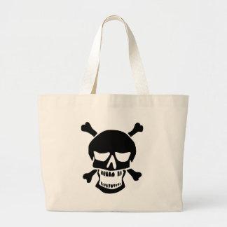 Grand Tote Bag Crâne fâché