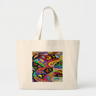 Grand Tote Bag Créatures urbaines