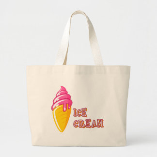 Grand Tote Bag Crème glacée