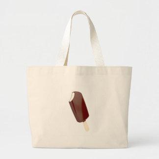 Grand Tote Bag Crème glacée de chocolat
