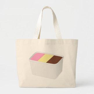 Grand Tote Bag Crème glacée napolitain